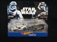 Hot Wheels Star Wars Character Cars 2-Pack 1st ORDER STORMTROOPER & CAPT PHASMA