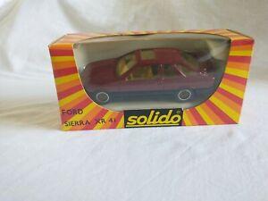 Solido Diecast Car Model - Ford Sierra XR4i - 1:43 - Made in France