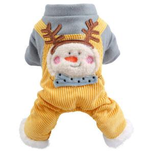 Small Medium Dogs Apparel Pet Dog Winter Clothes Puppy Cat Doggie Warm Jumpsuit
