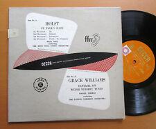 "LX 3025 Grace Williams Welsh Nursery Tunes Holst St Paul's Suite Decca 10"" Vinyl"