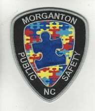 Morganton Police- Autism Awareness Patch