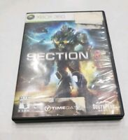 Section 8 (Microsoft Xbox 360, 2009) NEAR MINT COMPLETE! MAIL IT TOMORROW!