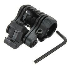 "New 1""/25mm 5 Position 20mm Picatinny Flashlight Torch Laser Scope Mount"