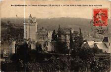 CPA  Bonaguil - Chateau de Bonaguil - Cote Nord et Porte d'Entrée  (638683)