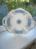 Coalport Revelry Bon Bon Dish Fine Bone China 1st Quality Blue Vintage British