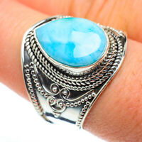 Larimar 925 Sterling Silver Ring Size 9 Ana Co Jewelry R48294F