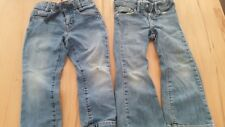 Benetton Lot set 2 jeans denim garcon boy 104 cm 3-4 Y stretch XS