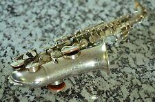 Vintage Buescher True Tone Stencil - M J Kalashen - Curved Soprano Saxophone