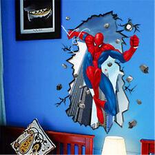 Spider Man Super Hero 3D Wall Sticker Removable Vinyl Art Mural Decal Home Decor