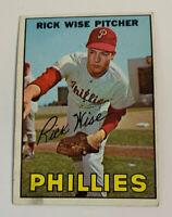 1966 Rick Wise # 37 Philadelphia Phillies Topps Baseball Card