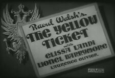 THE YELLOW TICKET (1931) DVD ELISSA LANDI, LIONEL BARRYMORE
