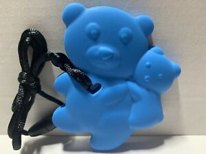 Kid Baby Bear And Baby Chewy Necklace Autism ADHD Biting Sensory Chew Teething