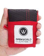 Emergency Blanket Camping Outdoor Survival Gear Backpack Tarp Pocket Compact