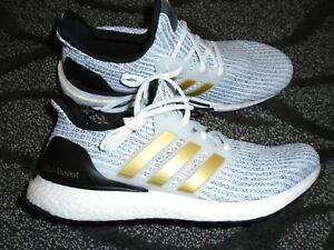 Adidas Ultra Boost DNA White Metallic Gold FZ4909 Size 12 Brand new no box