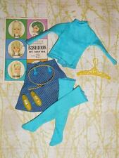 """Vintage-Mattel-1966-1967-Barbie-Francie-""""Hip Knits""""-#1265-A Complete Set"""