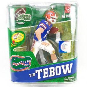 "2012 FLORIDA GATORS TIM TEBOW #15 NCAA FOOTBALL SERIES 4 ACTION FIGURE ""New"""