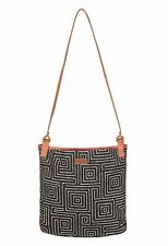 New ROXY Canvas SEA GODDESS Cross Body Shoulder Bag, Black
