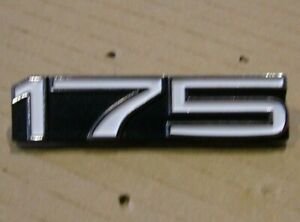 175 Side Cover Badge for YAMAHA CT3 1973 Brand New Metal Emblem YS45