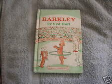 Barkley Syd Hoff Early I Can Read Book 1975