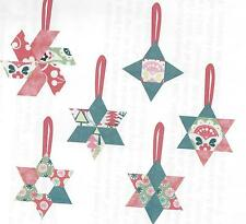 Star Ornaments English paper piecing quilt pattern by Paper Pieces