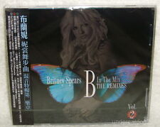 Britney Spears B In The Mix : The Remixes Vol.2 Taiwan CD w/OBI (Womanizer)