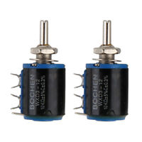 1Set 2Pcs WXD3-12 10K Precision Multi-turn Potentiometer