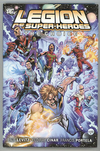 Legion Of Super Heroes The Choice Vol 1 HC DC 2011 1 2 3 4 5 6