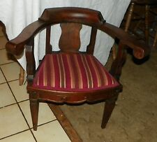 Small Pine Accent Chair / Armchair (Ac155)