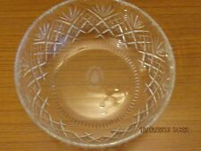 LARGE CUT GLASS FRUIT  BOWL