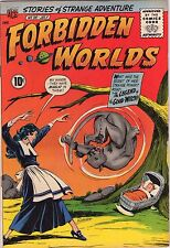 Forbidden Worlds #96 - Hot Babe Witch Cover - 1961 (8.5) Wh