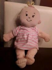 "The Manhattan Toy Company Baby Stella 14.5"" Plush Baby Doll Dress & Diaper"