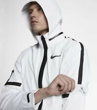 Nike AeroShield Men's Running Jacket 857805-100 White/Black Size L RRP £260 New