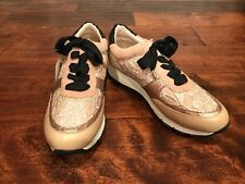 Kurt Geiger Light Blush Pink Lacy Sneakers, Size 9 (US) 39 (EUR) New!