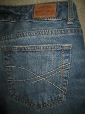 AEROPOSTALE Hailey Flare Curvy Stretch Med Blue Denim Jeans Women Sz 9/10 S x 30