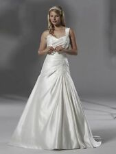 Romantica A-line Plus Size Wedding Dresses