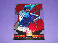 2014 Elite JOSE BAUTISTA #55 Red Variant/25 Toronto BLUE JAYS Dominican Republic