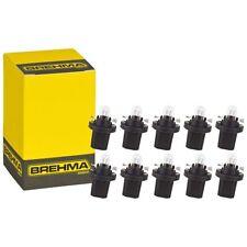 10x BREHMA BAX10d B8,5d Schwarz Instrumentenbeleuchtung 12V 1,2W