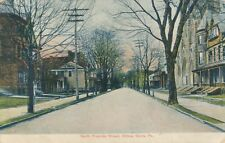 WILKES BARRE PA – North Franklin Street - 1907