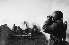 Dmitri BALTERMANTS: The Battle Awaits, 1941-45 / WWII / Silver Print / STAMPED