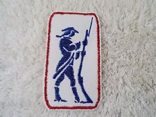 """Colonial SOLDIER 4"""" Embroidery Iron-on Custom Patch (E7)"""