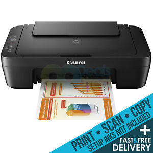 Canon MG2450 / MG2550S All-in-One Colour Printer Only Deal (inc. Free Delivery)