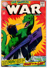 STAR SPANGLED WAR STORIES #137 in VG-  a 1965 DC WAR comic DINOSAUR cover