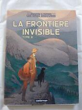 LES CITES OBSCURES n° 9  LA FRONTIERE INVISIBLE 2  E.O 2004 SCHUITEN + CARTE IGN