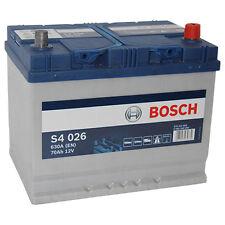 BOSCH S4 026 70Ah 12V PREMIUM Autobatterie Starterbatterie wartungsfrei *NEU*