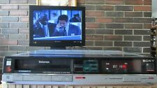 Sony Betamax Sl-Hfr 30 with beautiful picture display, Smart looking!