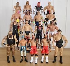 Set of 4 WWE wrestling figures inc. Braun Strowman, Bill Goldberg & Jeff Hardy