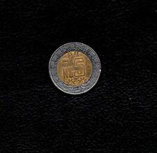 "1993 ""N"" 5 Pesos Mexico 1993 ""N"" Bi-Metallic -Ship FREE Item Added"