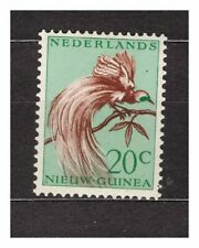 NETHERLANDS NEW GUINEA 1954 MNH Lesser Bird of-paradise 20c   37204