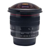 Meike 8mm f/3.5 Wide Angle Fisheye Lens for Nikon DSLR Cameras D7100 D800