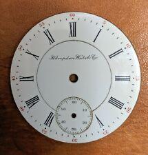 Antique Hampden 16s Double Sunk Pocket Watch Roman # Dial | Model 1-5 22010